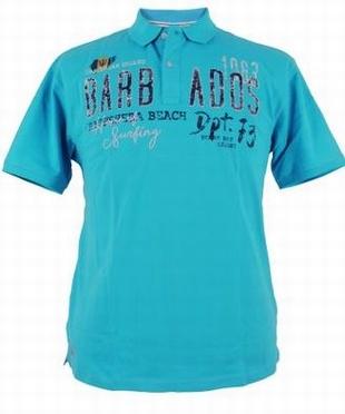 Redfield Polo piqué 'Barbados', turquois