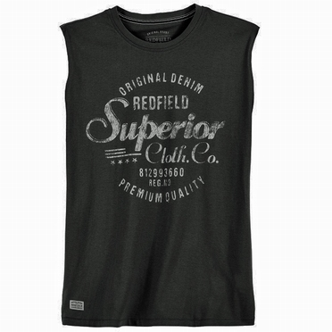 Redfield tanktop 'Superior', zwart