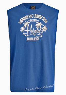 Ahorn tanktop 'Honolulu', blauw
