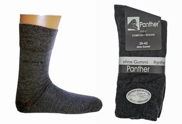 Panther Comfort sokken set van 2, antraciet
