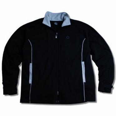Ahorn Fleece vest 'Active', zwart