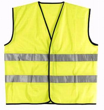 Fluoriserend geel veiligheidsvest - 4XL