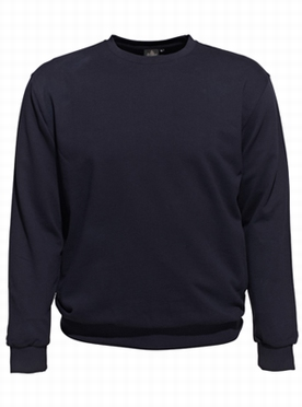 Ahorn basic Sweatshirt, navy blauw