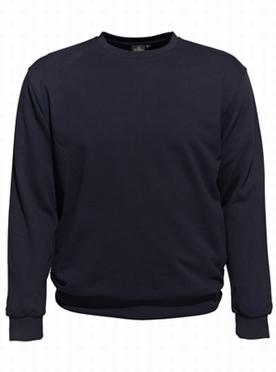 Ahorn basic Sweatshirt, navy blauw