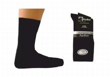 Panther Comfort sokken set van 2, zwart