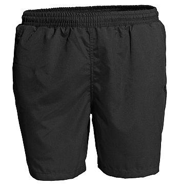 Fitness sport short microvezel, zwart