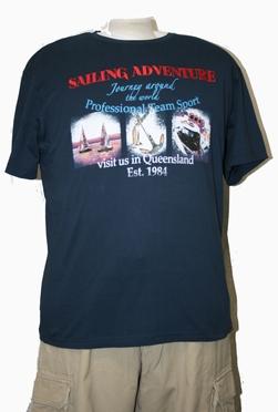 T-shirt 'Sailing Adventure', navy