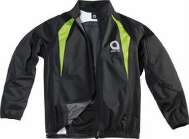 Cycling softshell jack, zwart