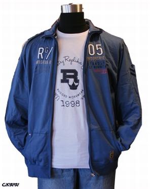 Sweatvest '1st Regiment', blauw