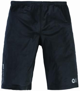 Aero short running tights, zwart