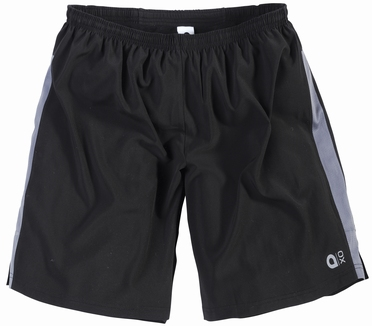 Aero tech sport shorts, zwart