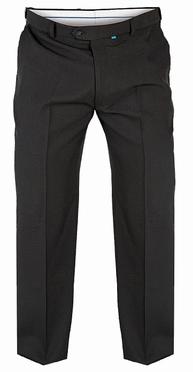 Terlenka broek m. rekbare taille, zwart