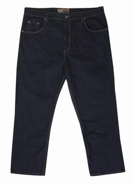 Stretch denim jeans Mistral m. hoge taille, denim blue