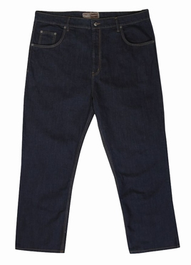 Stretch denim jeans Mistral m. hoge taille, denim blue
