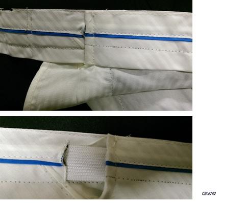 BAILEY stretch jeans m. elastische zij-boorden, blue