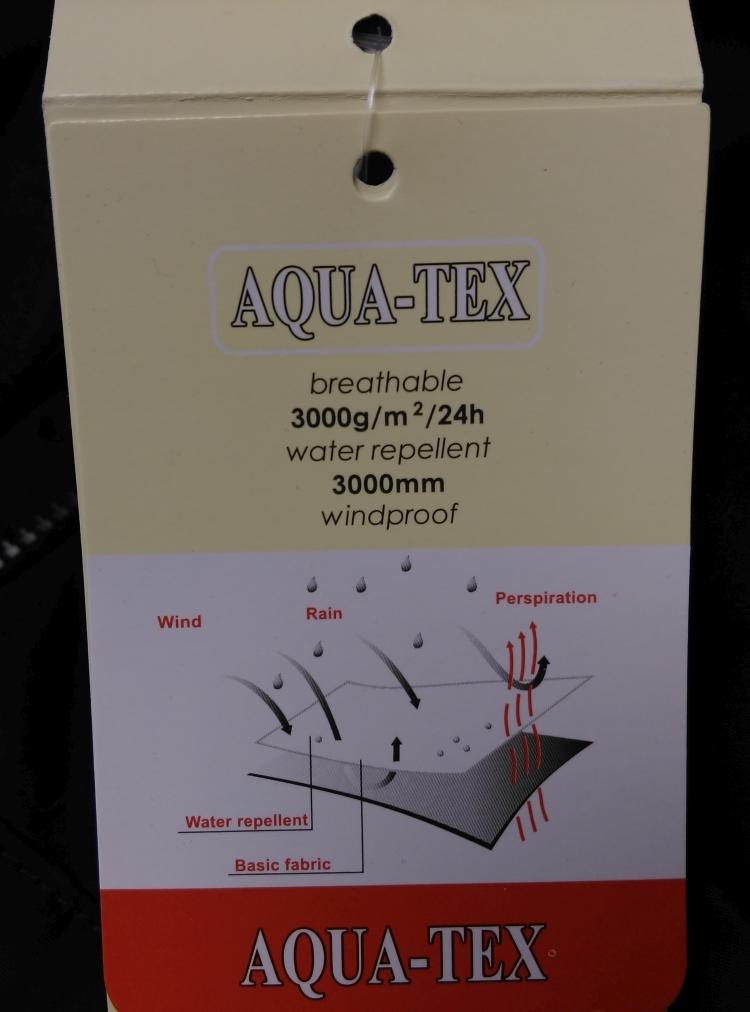 Canson Aquatex waterdicht winterjack, taupe