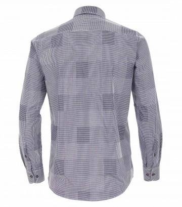 Casa Moda Comfort Fit overhemd lange mouw, carré navy