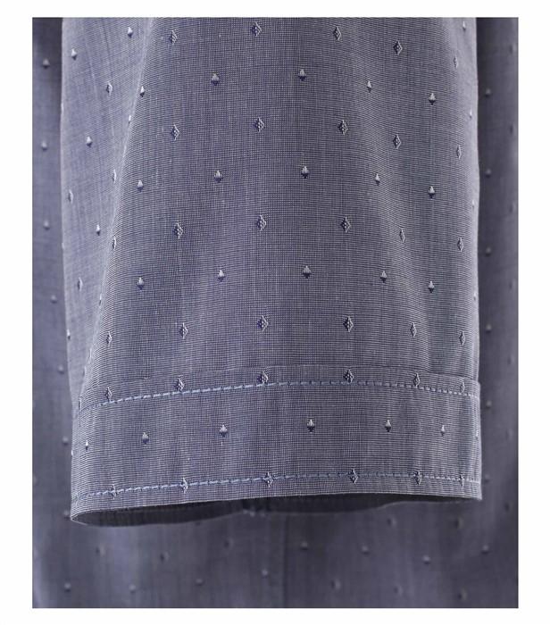 Casa Moda Kent Comfort Fit overhemd KM, d.grijs