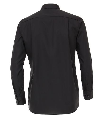Casa Moda strijkvrij Comfort Fit overhemd, zwart