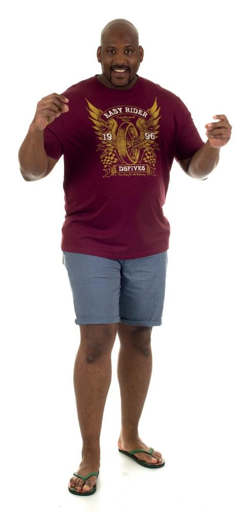 Chino shorts 'JOSH', staalblauw