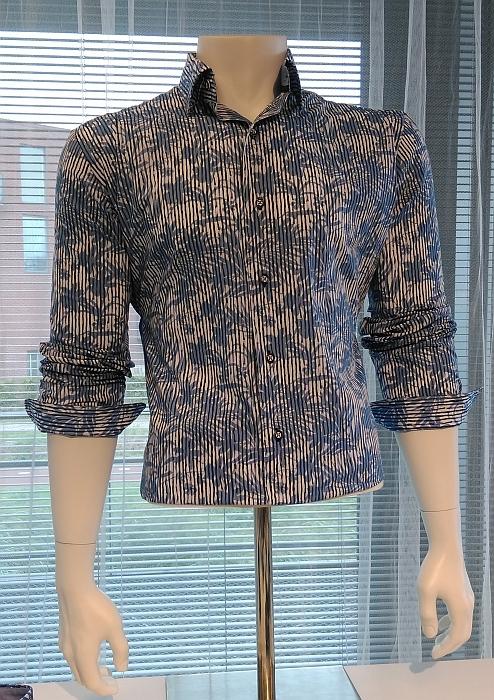 Culture overhemd KM MONTREAL, stripe/leaf