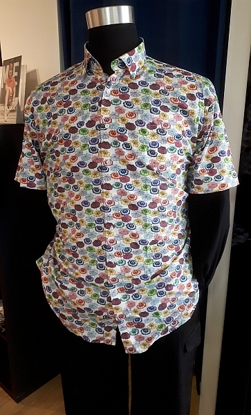 Culture overhemd KM MONTREAL, umbrella
