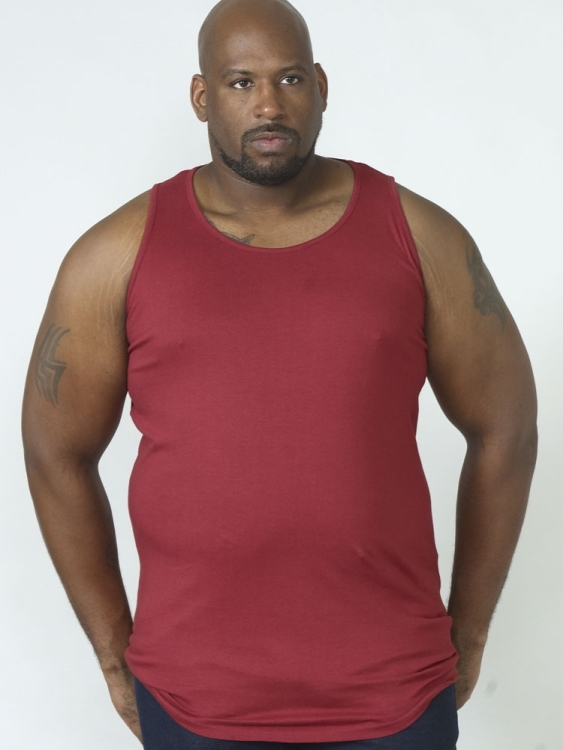 DUKE Tank top, d.rood