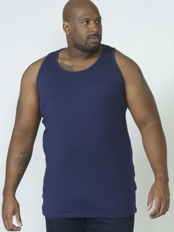 DUKE Tank top, navy blauw