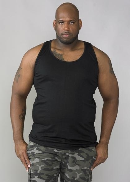 DUKE Tank top, zwart