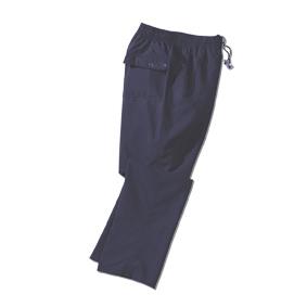 Fitness broek microvezel, navy blauw