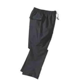 Fitness broek microvezel, zwart