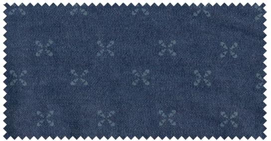 GCM Casual overhemd korte mouw, navy blauw