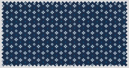 GCM Overhemd met fijn printje, navy blauw