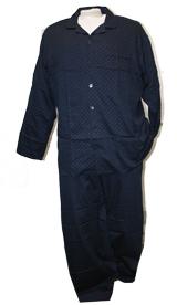 Klassieke pyjama, donker navy