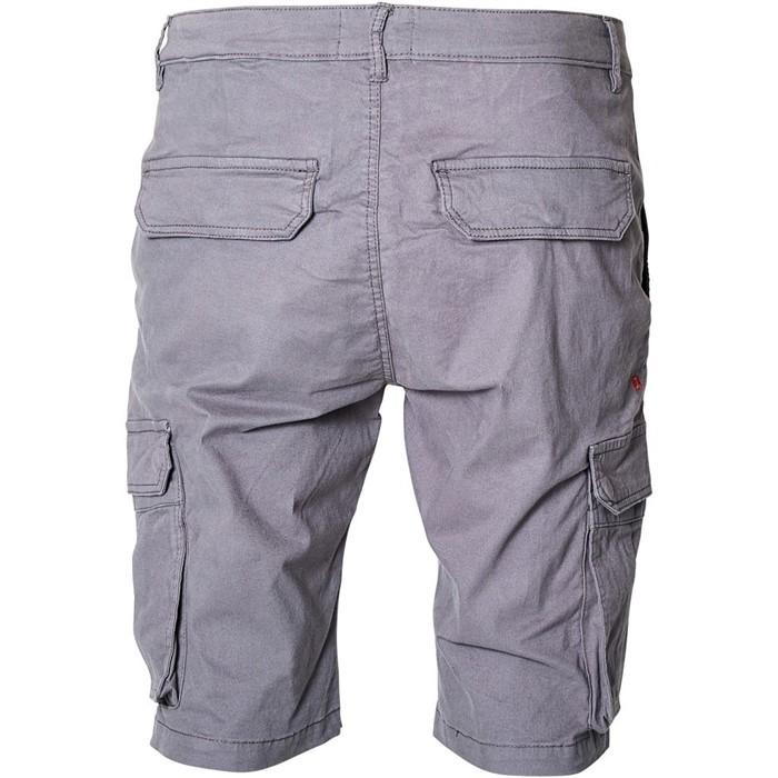 North 56°4 Cargo shorts met stretch, antraciet