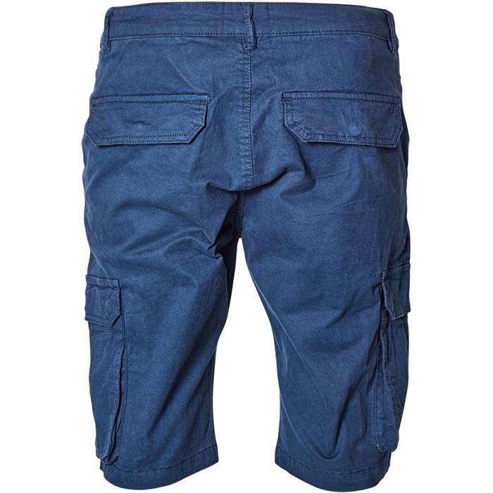 North 56°4 Cargo shorts met stretch, navy blauw