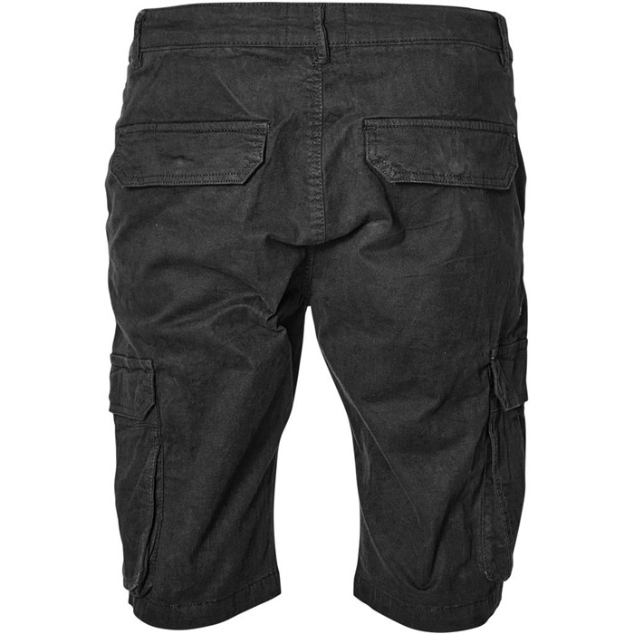 North 56°4 Cargo shorts met stretch, zwart
