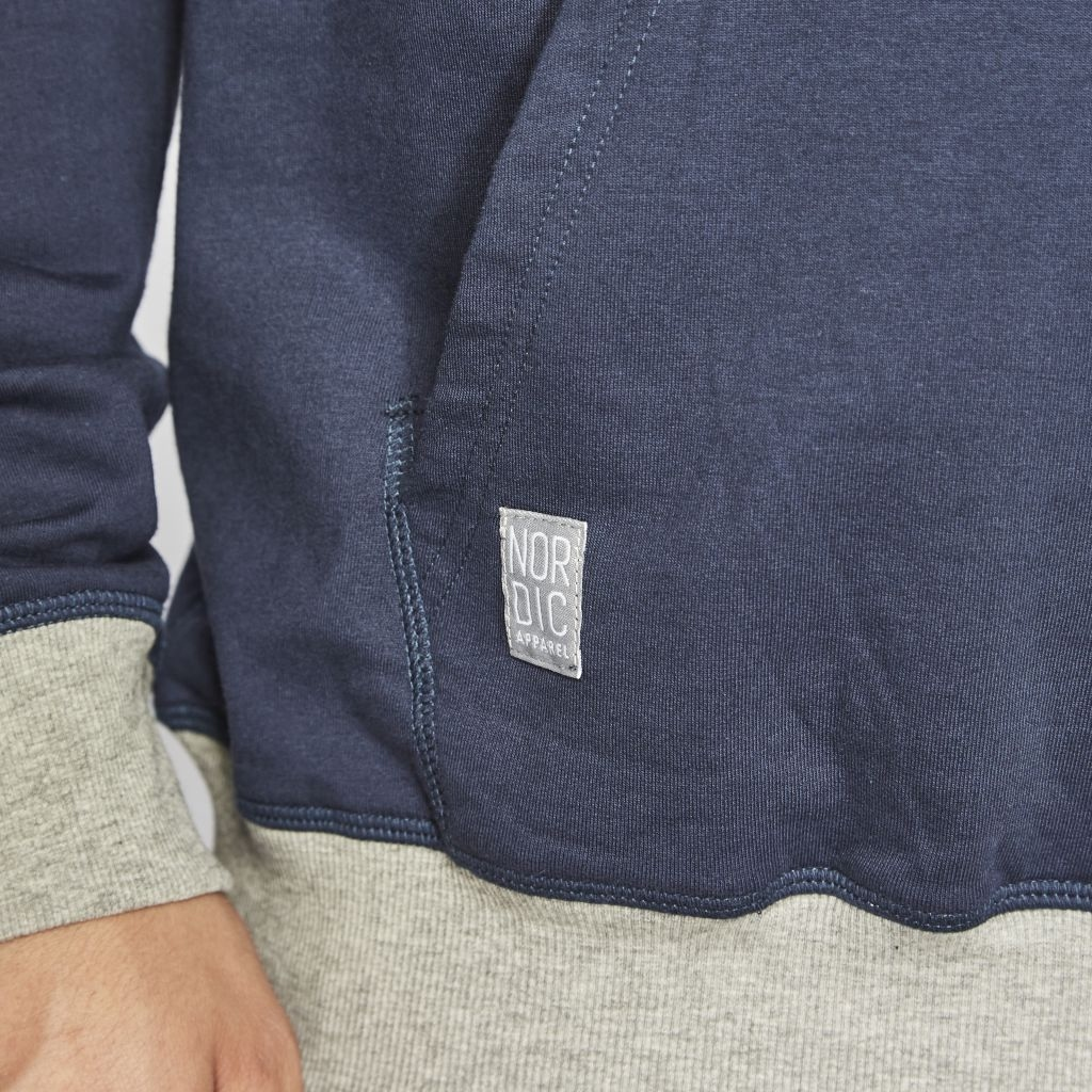 North 56°4 hooded sweater, navy blauw