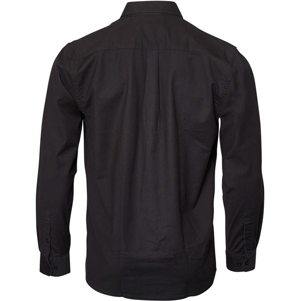 North 56°4 Oxford shirt lange mouw, zwart