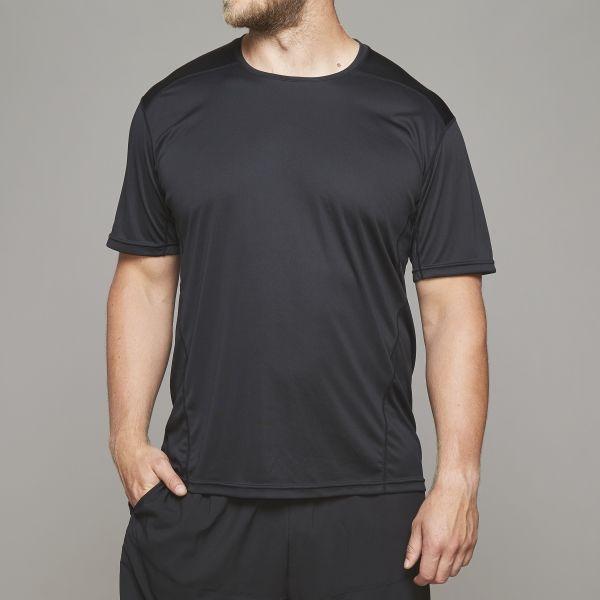 North 56°4 SPORT T-shirt, total black