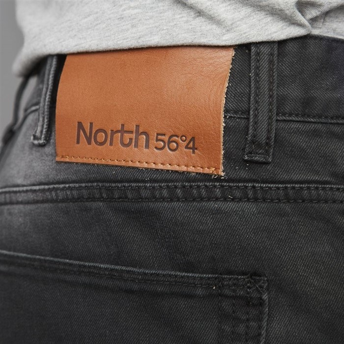 North 56°4 stretch WENDELL L32, black used wash