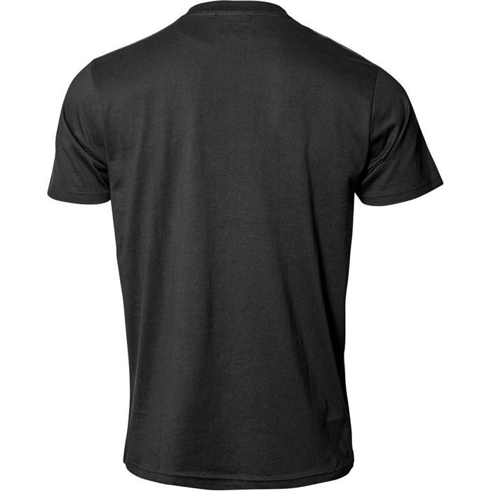 North 56°4 T-shirt m. North 56°4 print, zwart