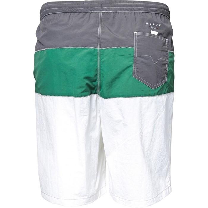 North 56°4 Zwemshorts 3-color, grijs/groen/wit
