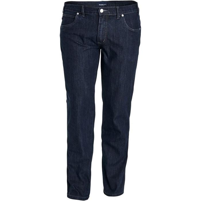 North 56°4 stretch jeans model Mick L32, blue wash