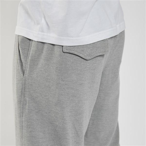 Ottoman vrijetijds korte broek, mid grijs