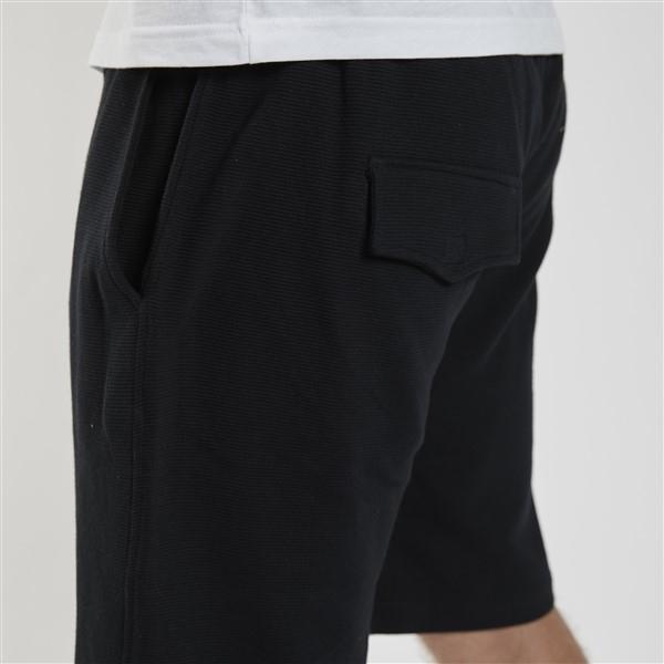 Ottoman vrijetijds korte broek, zwart