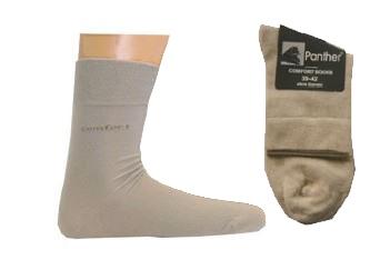 Panther Comfort sokken set van 2, creme beige