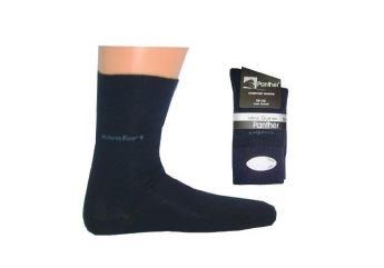 Panther Comfort sokken set van 2, marine blauw