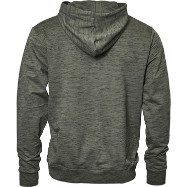 Replika Hooded vest m. rits, olijf melée