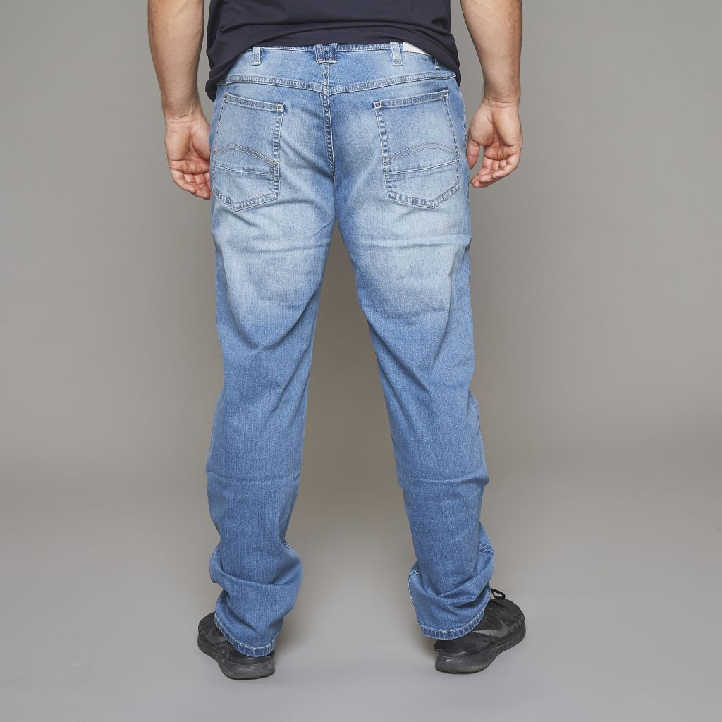 Replika Jeans Denim Rebel Mick L34, blue used wash
